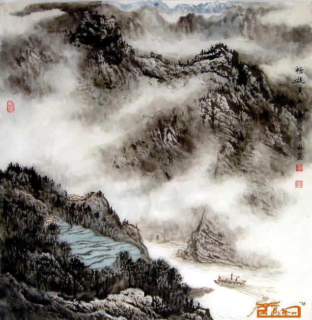 李林田摄影�y.�_山水名家 李林 - 畅游汉江