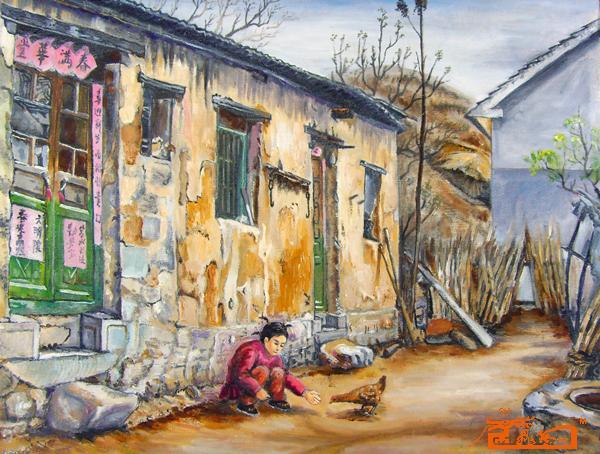 名家 李国政 油画 - 油画风景写生 当前   位粉丝喜爱本幅作品 印象分