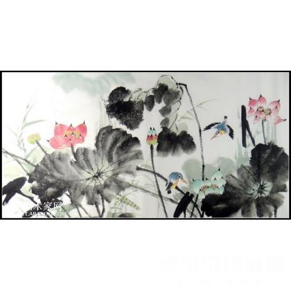 写意花鸟画作品 类别 写意花鸟画 淘宝 名人字画 中国书画服务中心
