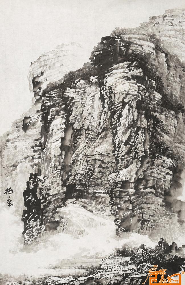 国画名家 朱添安 - 太行山写生