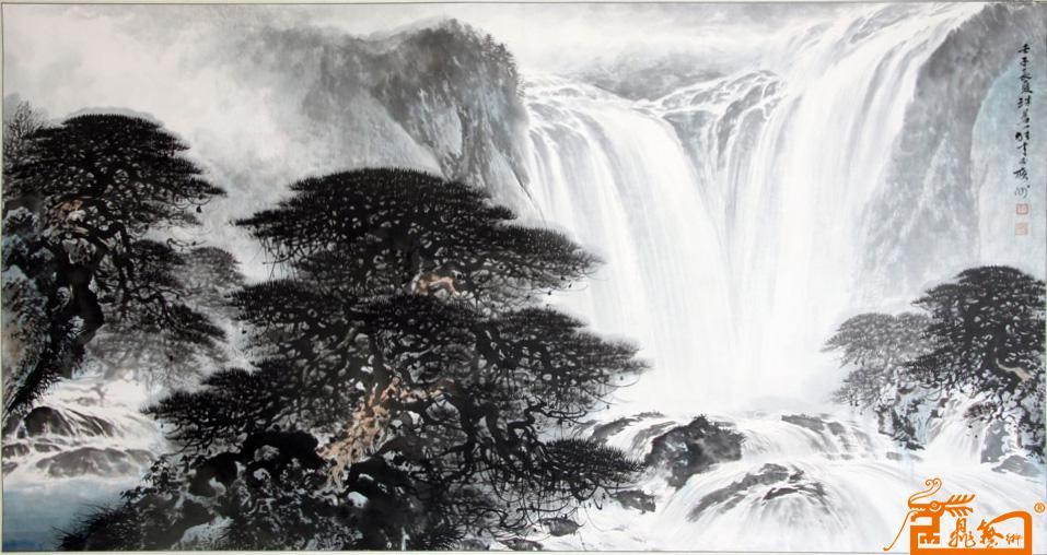 赵广峰-黎雄才山水(收藏品)-淘宝-名人字画-中国书画